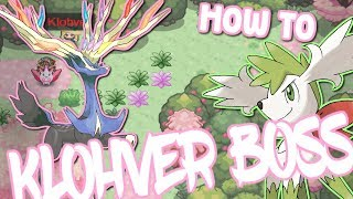 How to Beat Klohver (New Boss) Hard Difficulty~ Pokemon Revolution Online