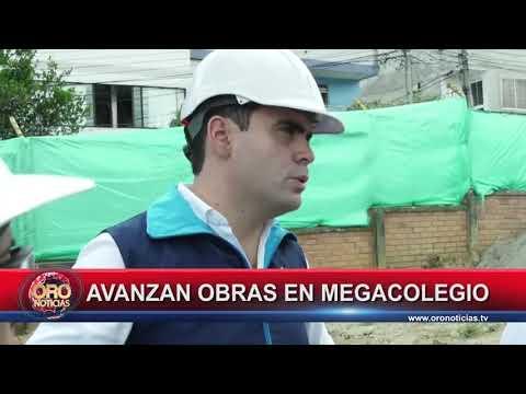 AVANZAN OBRAS EN MEGACOLEGIO DE FLORIDABLANCA - ORONOTICIAS.TV