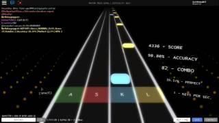 Roblox Stream 11: Rhythm Track- I'm Blue