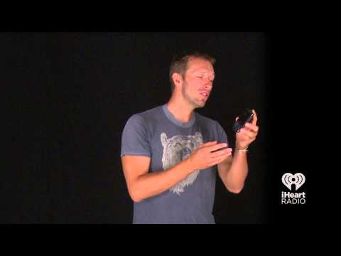 Chris Martin of Coldplay Sings Emotionally About Random Objects