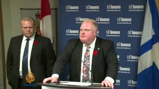 Toronto mayor admits smoking crack cocaine