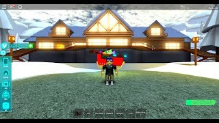 Roblox, Sunset City , Log Cabin, (Tye_7) Tour