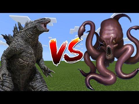 Godzilla Vs Kraken - Minecraft PE / Bedrock Edition