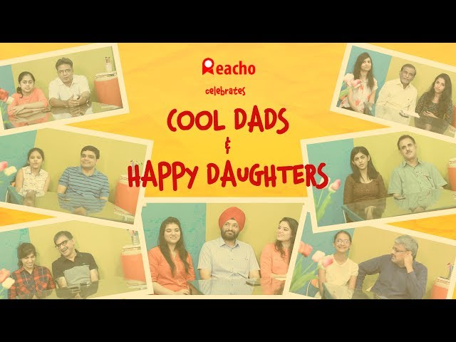 Cool Dads & Happy Daughters | Father's Day