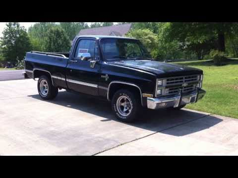 1987 chevy silverado for sale sold youtube. Black Bedroom Furniture Sets. Home Design Ideas