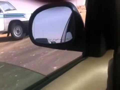حادث على طريق مطار سكاكا الجوف