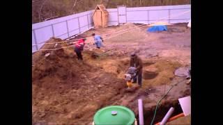 Монтаж септика для загородного дома(, 2014-07-14T12:01:52.000Z)