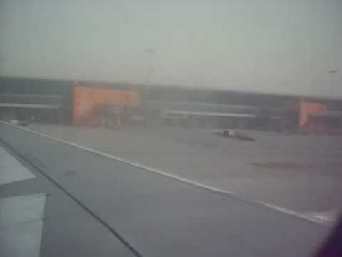 Kingfisher Airlines taxiing and shut down at Delhi