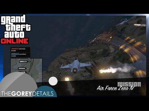 "GTA V - Air Force Zero IV: ""Danger Zone"" - The Gorey Details"