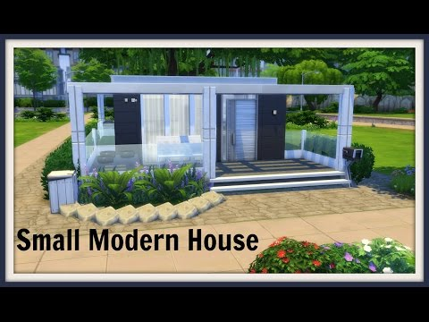 Sims 4 - Speed Build - Small Modern House