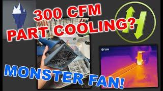 Ultimate 3D printer Cooling fan - 5015 vs Berd-Air vs 300CFM Mega Cooling