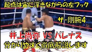 ボクシングテクニック技術解説 井上尚弥 VS ワリルト・パレナス ガード越しの怒涛の攻撃の裏側