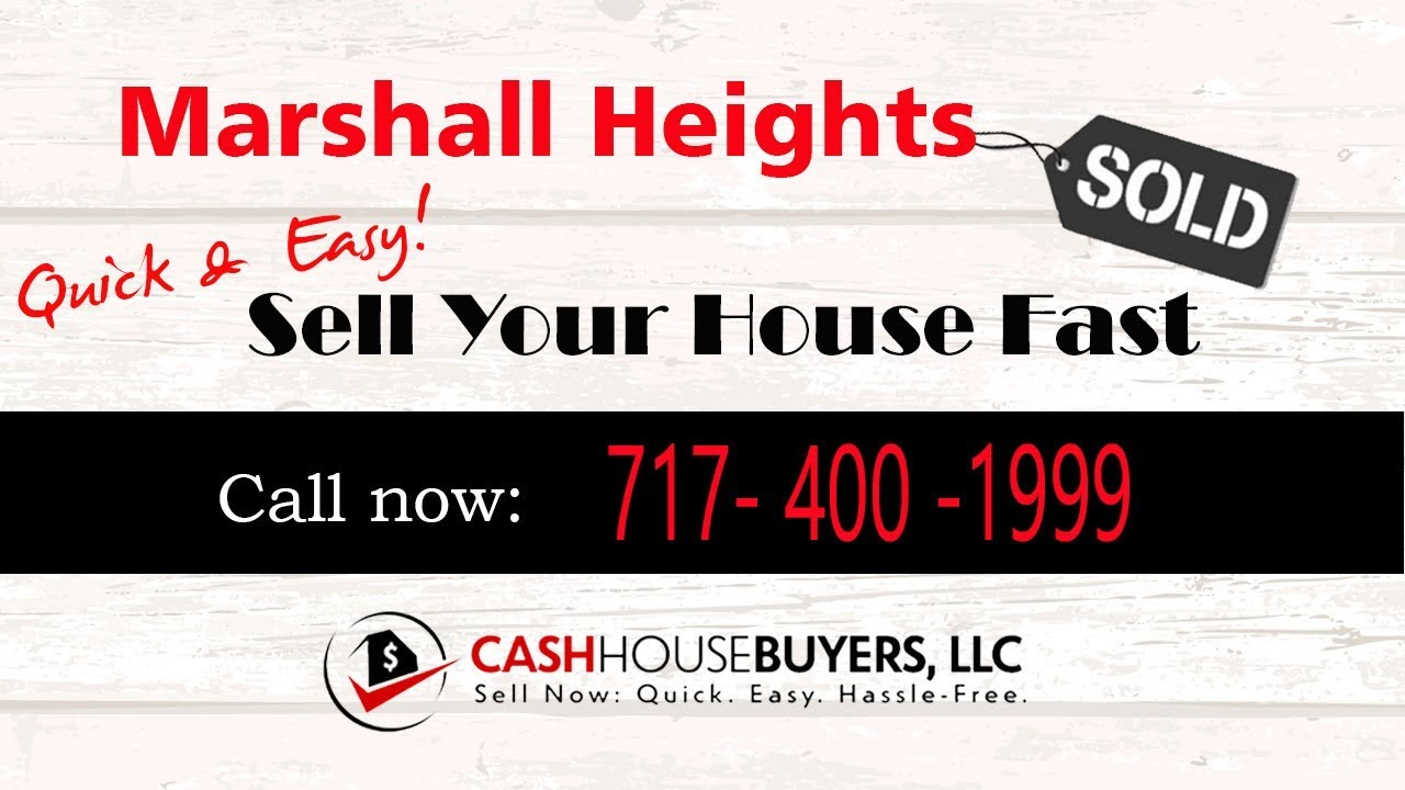 HOW IT WORKS We Buy Houses Marshall Heights Washington DC   CALL 717 400 1999   Sell Your House Fast