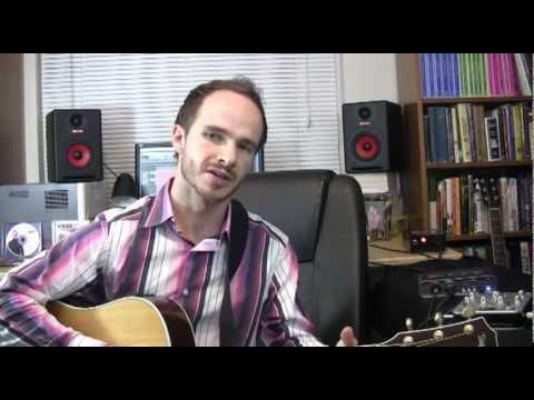 Fishman Aura Spectrum Review Demo W Hybrid & Acoustic Guitar W Worship Leader Jared Stepp