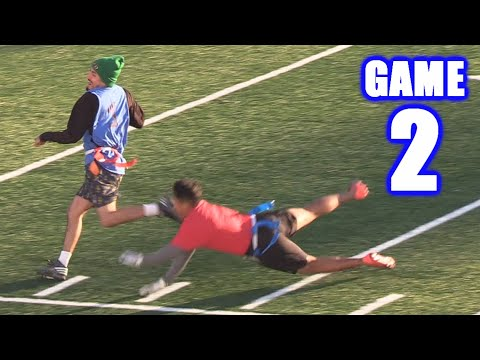 GABE PLAYS QUARTERBACK! | On-Season Football Series | Game 2