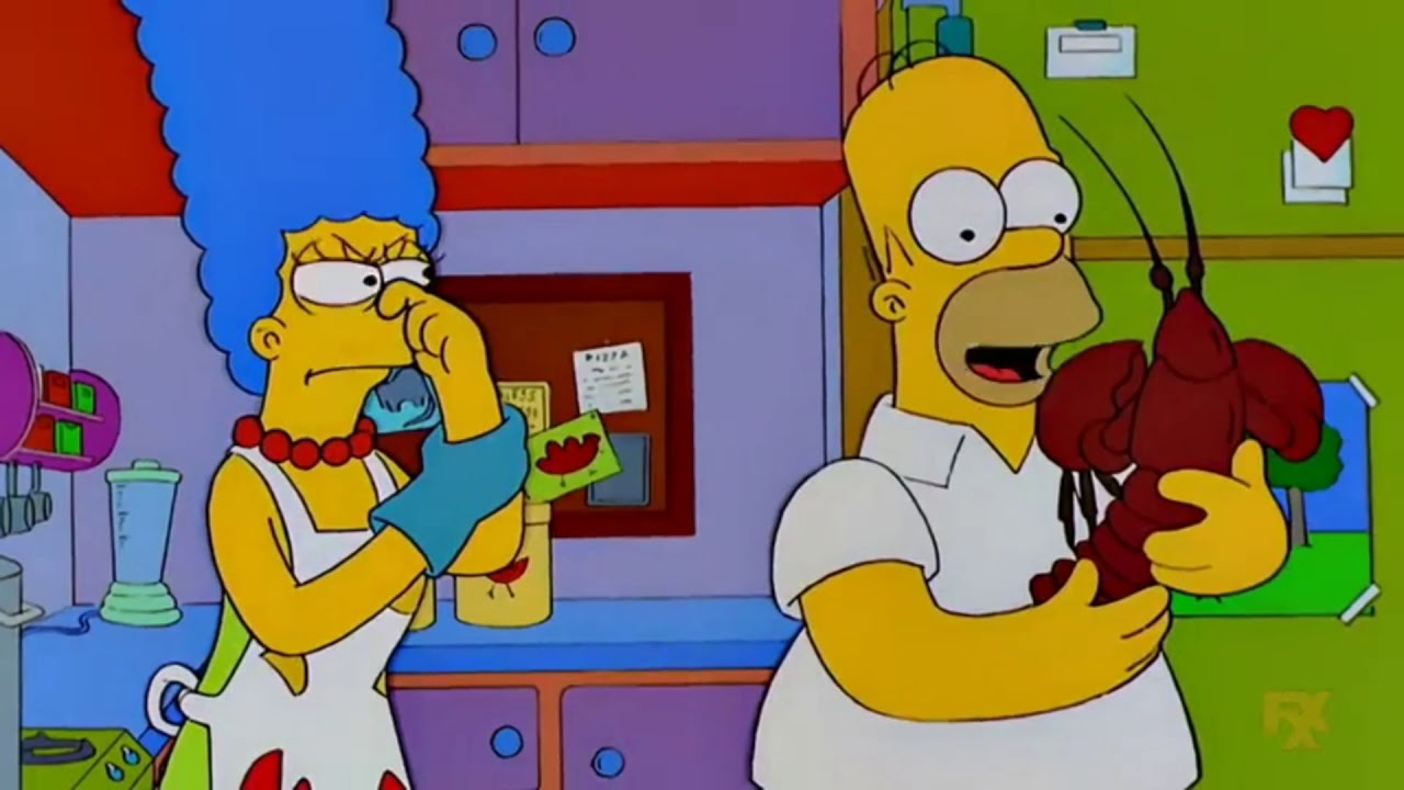 Download Homer Buys a Pet Lobster