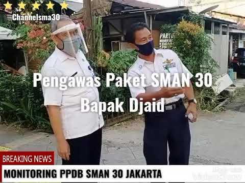 Monitoring PPDB SMAN 30 TAHUN 2020