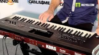 Korg Pa4x Music Express prezentacja.  (cz.1)