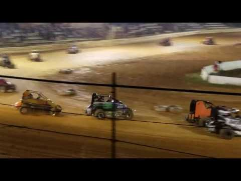 10 2 16 feature first 20 laps -Airport Speedway