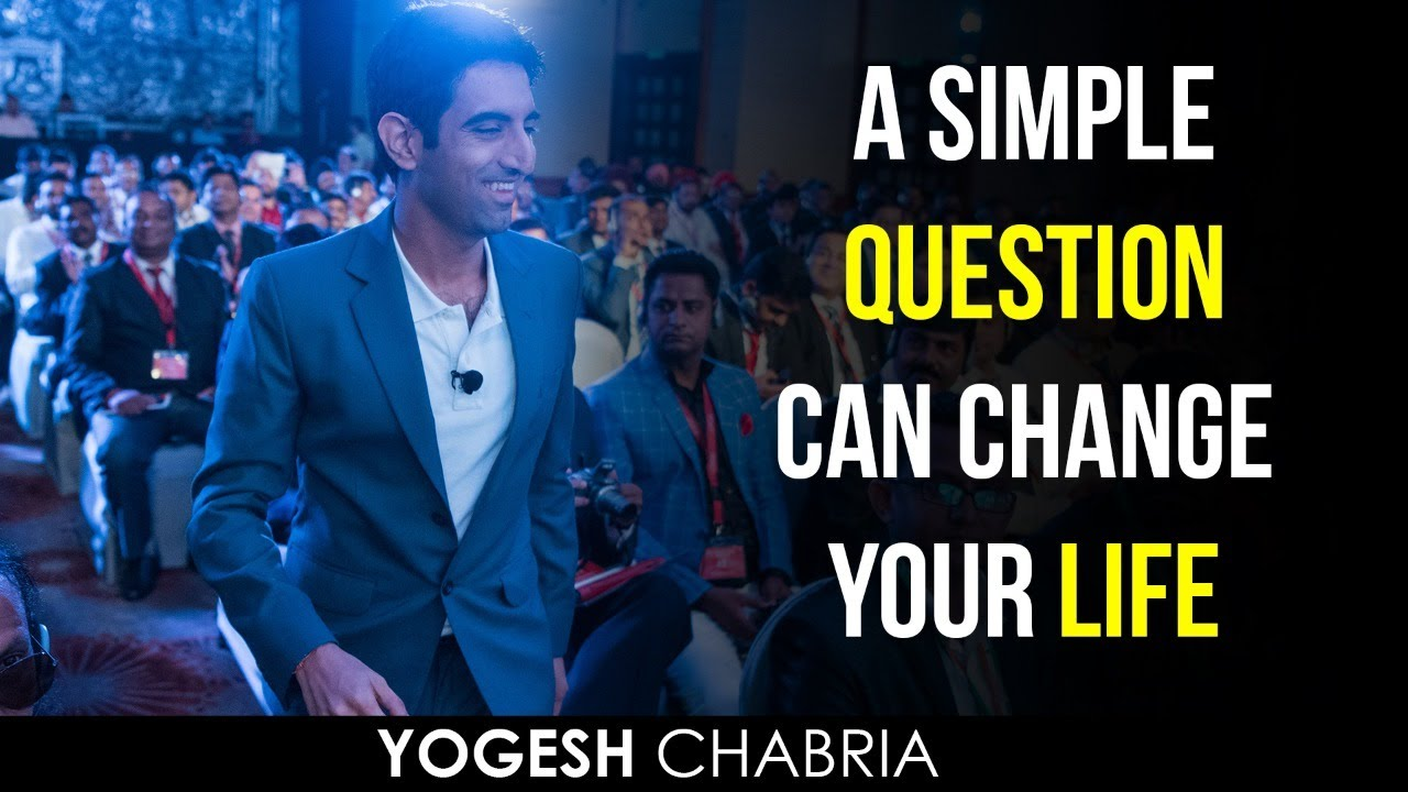 "Don't be afraid to ""Ask""!  A simple question can change your life by Yogesh Chabria"