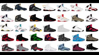 Top 10 retro air jordan 7