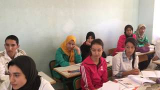 Morocco Library Project : Med V High School Goulmima.