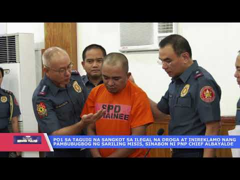 PO1 sinabon at muntik ng sapukin ni PNP chief