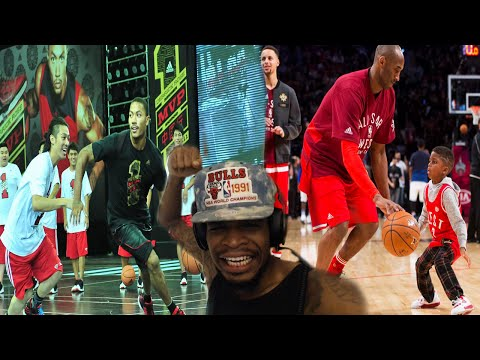 YOO CURRY JUST DID THE SLIP N SLIDE WTF!?! NBA PLAYERS VS REGULAR PEOPLE COMPILATION REACTION!