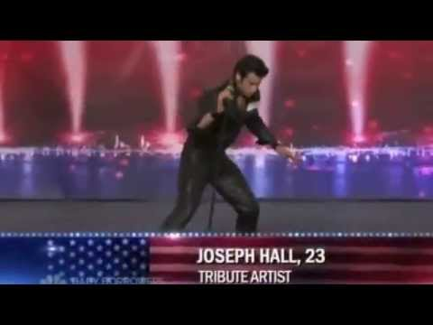 Joseph Hall's Audition on America's Got Talent
