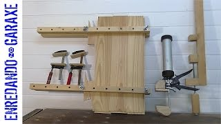 6 homemade clamps and workbench vises