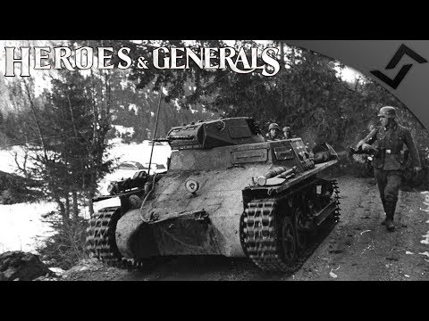 Panzer I Scourge of the Sky! - Heroes and Generals - German Tanker Gameplay