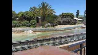 Camera gets wet on Atlantis Roller Coaster San Diego