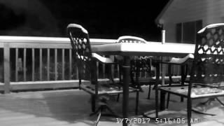 January 6/7 Snowfall Timelapse