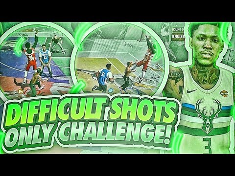 7'3 SHOT CREATOR HITTING DIFFICULT SHOTS LIKE A PURE SHOT CREATOR! BEST DRIBBLE PULL UP NBA 2K18