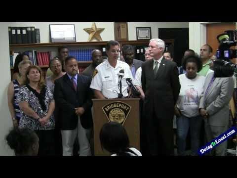 Press Conference On Violence in Bridgeport