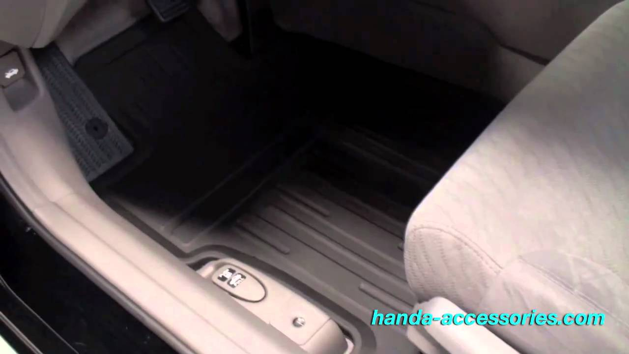 Civic Coupe All Season Floor Mats Installation (Honda Answers #29)   YouTube