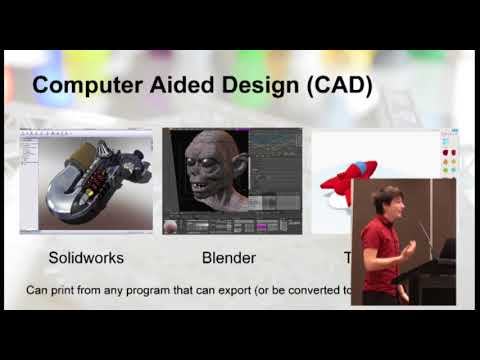 Conference 2016 - Angus Deverson - 3D Printing