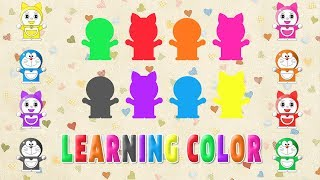 Bé học tiếng anh   Dạy bé học màu sắc bằng tiếng anh   LEARNING COLOR FOR KIDS ENGLISH FOR BABY