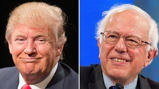 Trump Courts Bernie Sanders Voters