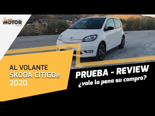 Al volante del Skoda CITIGOe iV 2020 / Opiniones del CITIGO eléctrico / SuperMotor.Online / T5 - E22