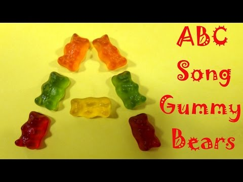 ABC Song Alphabet Song Gummy Bears TOP Nursery Rhymes LEARN ABC ABCSCollector