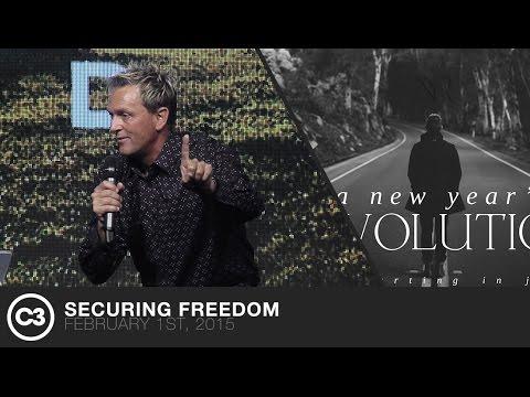 Securing Freedom - Ps. Jurgen Matthesius - 02/01/15
