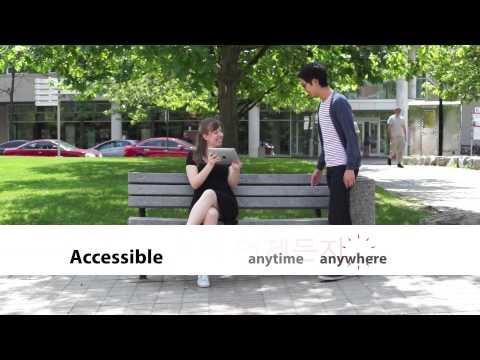 York University Online Korean Course Promo