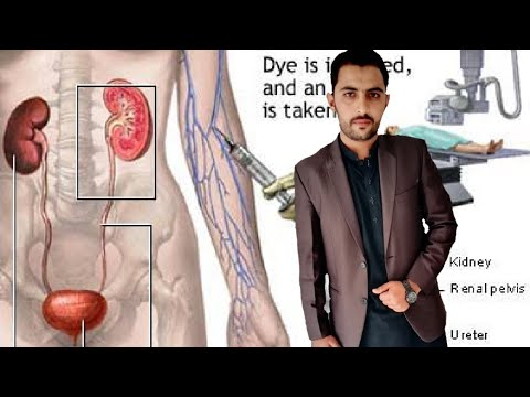 Download IVU / IVP,  . Radiology contrast study.  How to perform in Urdu and Hindi
