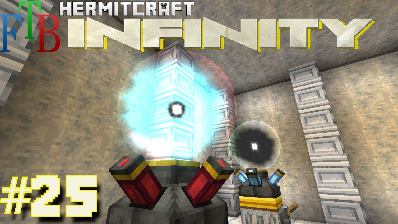 Minecraft Mods - FTB Infinity Ep  25 - Bigger Better Nodes