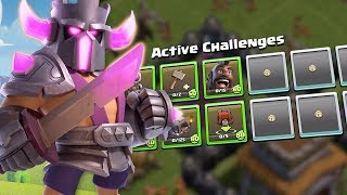 P.E.K.K.A King At Your Disposal! (Clash of Clans June Season Challenges)