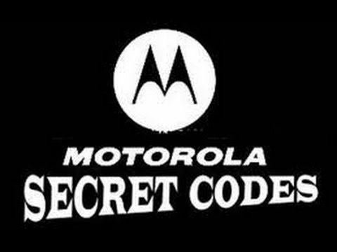 5 secret codes for Motorola new 2017