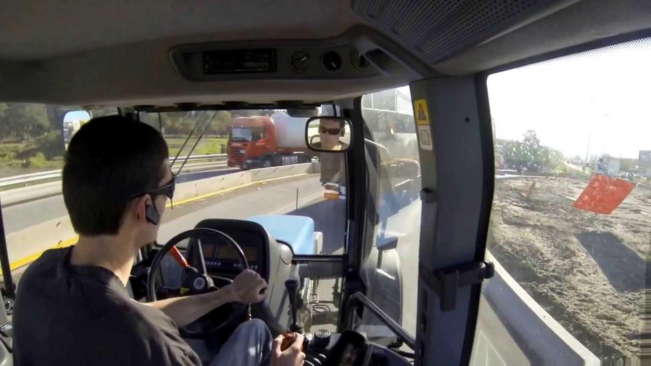 Cab View New Holland Tm135