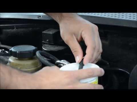 How to Seafoam a Ford Focus Zetec engine