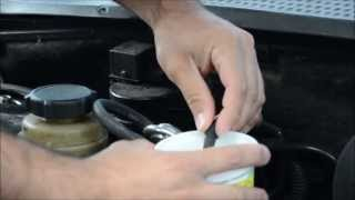 How to Seafoam a Ford Focus Zetec engine